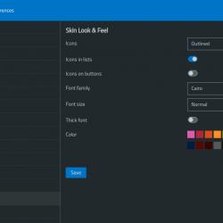 Outlook+ dark mode
